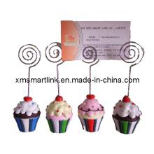 Polyresin Customized Sculpture Decorativo titular de menú