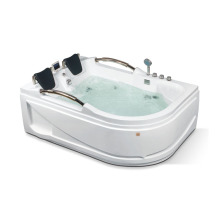 Rectangle Two Person Massage Freestanding Bathtub