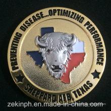 Пользовательские 3D два-тон закончил вызов монеты монеты и сувенирные