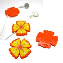 Venta caliente 3D accesorios de flores para auriculares
