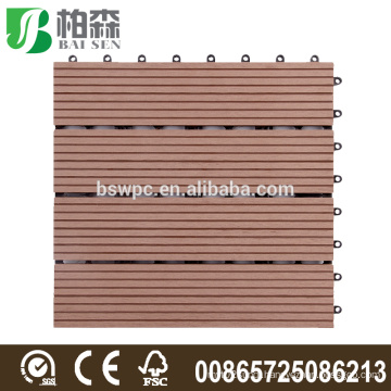 Recyclable wpc DIY flooring /decking