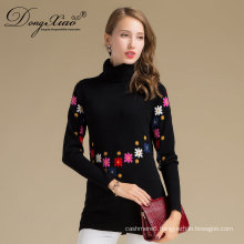 Spring Autumn And Winter Computer Knitted Mongolian Cashmere Sweater With Competitive Price
