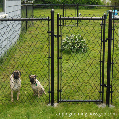 DM black-chain-link-fence