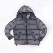 Nylon garment dyed down jacket