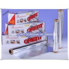 Papel de alumínio doméstico