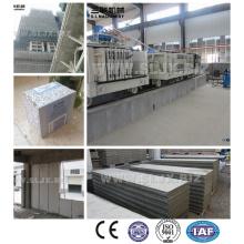 Automático de hormigón prefabricado de hormigón compuesto de pared de la máquina de panel