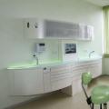 Dental furniture cabinet for dental lab