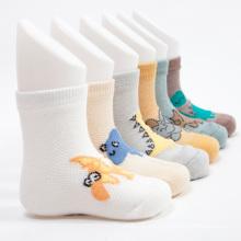 Venta caliente 2016 buena calidad niños calcetines dinosaurio lindo diseño
