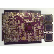 ENIG  PCB with 4 layer  1.6mm purple  solder