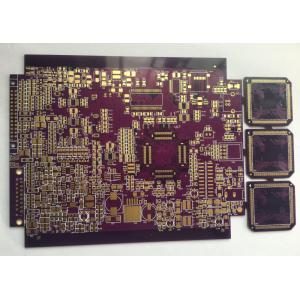 Carte électronique ENIG à 4 couches de 1,6 mm de soudure violette