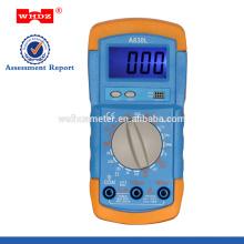 DT710AL del multímetro digital popular con el probador de la batería de Backligt