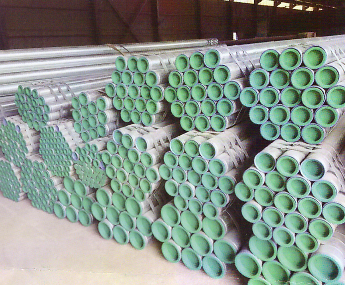 FBE coated pipe