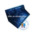 Custom printed blue VMPET padded bubble mailer envelope