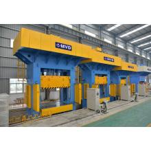 Hydraulische Presse 1200 Tonnen, Hydraulische Presse Maschine 1200 Ton für Edelstahl Spüle Tiefziehpresse