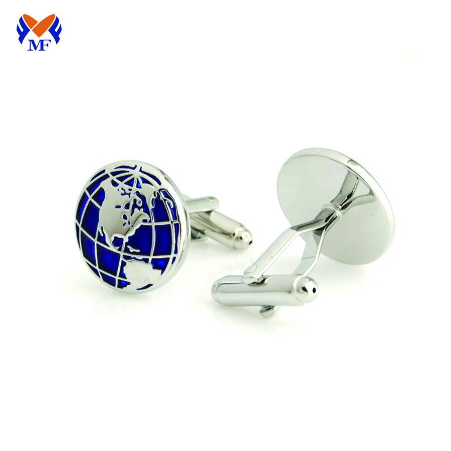 Cufflink For Man Blue