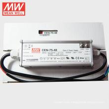 MEANWELL 75W 48V LED Driver 1500ma with PFC C.C+C.V UL CE TUV CEN-75-48