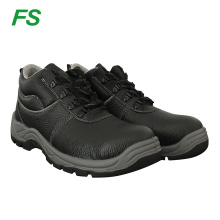 Man stock leather safety shoes in steel toe