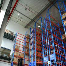 Solución de ahorro de espacio revestido en polvo del estante de servicio pesado VNA