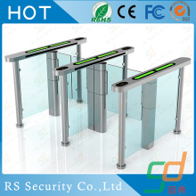 Single Side EU Standard Glass Turnstile Solutions