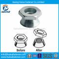 Carbon steel Hot Dip Galvanised security shear nut