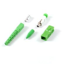 Kits de conectores ópticos de fibra - Modo simple Sc / APC