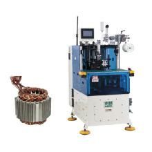 Automatic single phase motor stator winding lacing machine
