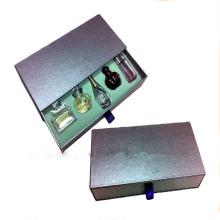 Горячая печать CMYK Конструкция духи бутылки косметический контейнеры