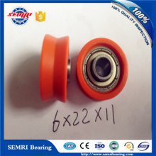 Flanged Ball Bearing Rollers for Sliding Window Door Conveyor