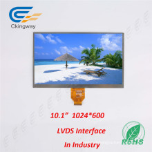 "Superior Durability 10.1"" Lvds Interface IPS Touch TFT Displays"