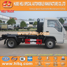 4X2 FOTON FORLAND brand 98hp refuse collecting truck capacity of 4.5 tons high quality in China