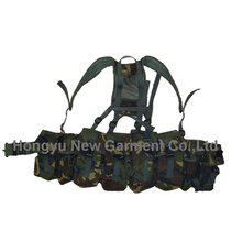 Ak Magazine Chest Rig Carry Tactical Bellyband Vest