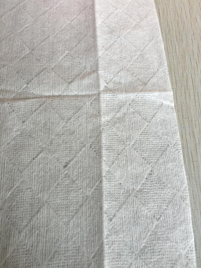 diamond embossed spunlace nonwoven