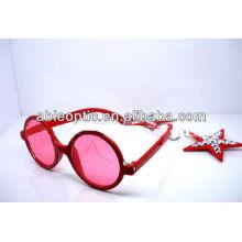 Горячие продажи пластиковые последние звезды звезды солнцезащитные очки