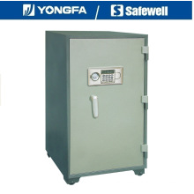 Yongfa 127cm Height Ald Panel Electronic Fireproof Safe with Handle