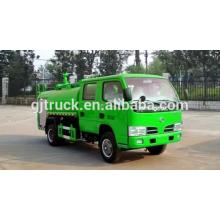 5CBM 4 * 2 Dongfeng camión de agua / camión bowser de agua / camión de riego / tanque de agua camión / camión de transporte de agua / camión de pulverización de agua
