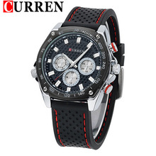 Classic Casual Sport Silicon Band Mens Watches