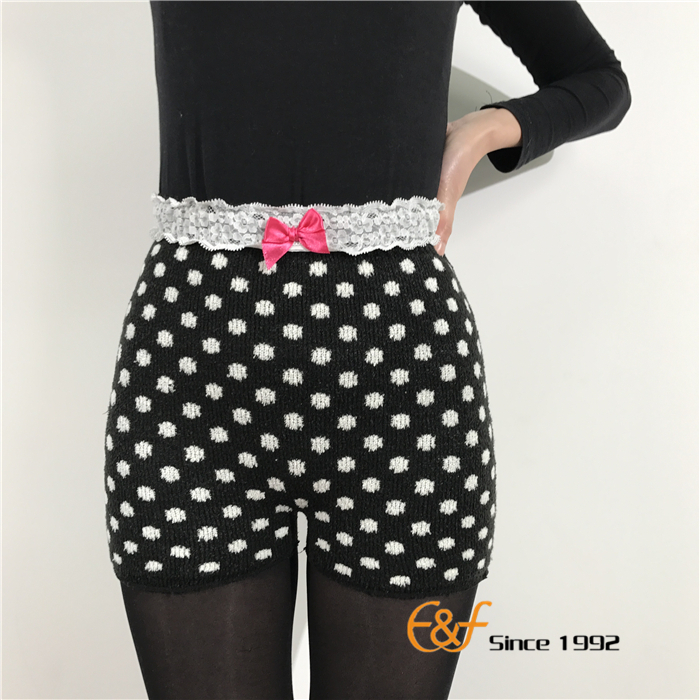 Dot Black Sexy Ladies Inner Underwear Pants