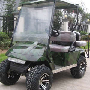 Gas Power 4-zits off-road golf carts