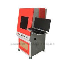 Rostfreie Stähle, Metalle, ABS und Kunststoff Laser-Markiermaschine, voll eingeschlossenes Modell