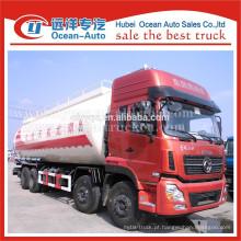 Dongfeng Kinland caminhão 8x4 para transporte de material em pó