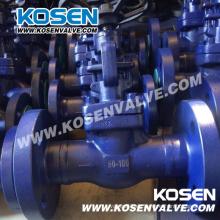 Válvula de globo de acero forjado de alta presión
