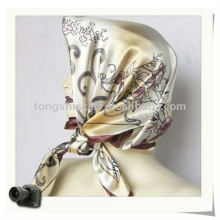 2013 Satin square lady fashion tudung