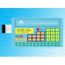 Commutateur clavier à membrane personnalisé