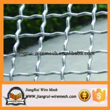 Galvanisiertes gewebtes gequetschtes Drahtgeflecht / gecrimptes Drahtgeflecht für Verkauf