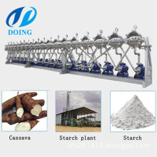 Cassava starch concentration and purification stainless steel hydrocyclone