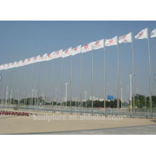 Stainless steel flagpole,flag
