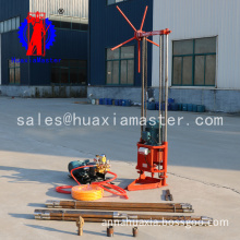 Geological exploration three phase electric sampling drill
