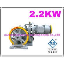 250KG 2.2KW montaplatos ascensor máquina