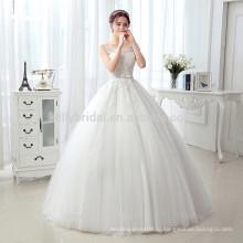 В оптовых продажах довольно более младших дизайн кружева аппликация с кристалл бисера створки платье платье KB172295B