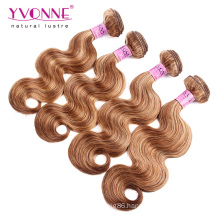 Mix Color Brazilian Human Hair Extension